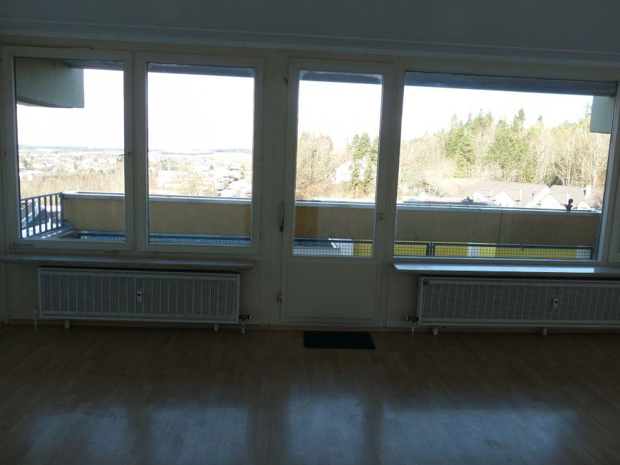 Blick vom Wohnzimmer/Balkon über Villingen!